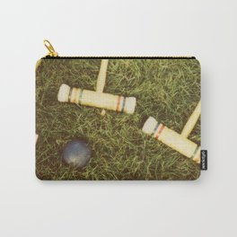 Croquet Carry-All Pouch