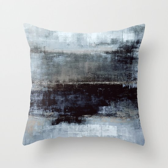 Exaggerated Throw Pillow
