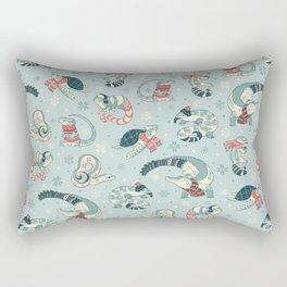 Winter herps Rectangular Pillow