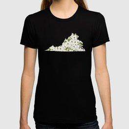 Virginia in Flowers T-shirt