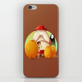 Studio Ghibli - Radish Spirit iPhone Skin