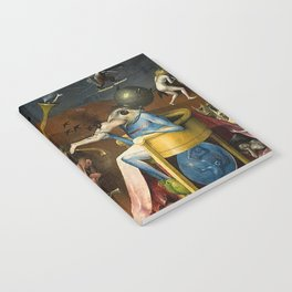 The Garden of Earthly Delights Bosch Hell Bird Man Notebook