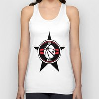 basketball Tank Tops featuring BASKETBALL  by Robleedesigns
