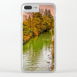 Kennet and Avon Canal Clear iPhone Case