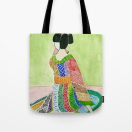 Blossom in Exhale Tote Bag