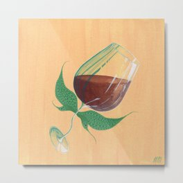 Wine Fairies 4 - Cabernet Sauvignon Metal Print