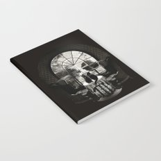 Room Skull B&W Notebook