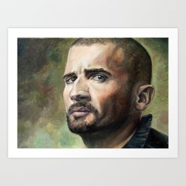 Lincoln Burrows Art Print