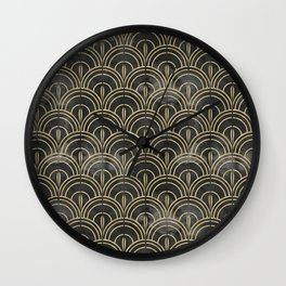 The Roaring Twenties Pattern Wall Clock