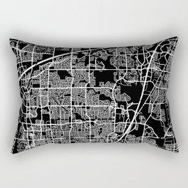 plano map texas Rectangular Pillow