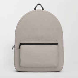 Colonnade Light Grey Solid Color Accent Shade / Hue Matches Sherwin Williams Twilight Gray SW 0054 Backpack