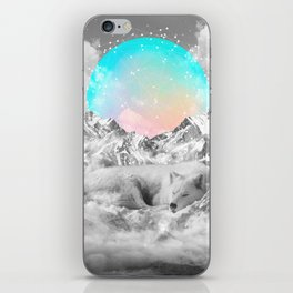 Put Your Thoughts To Sleep iPhone Skin