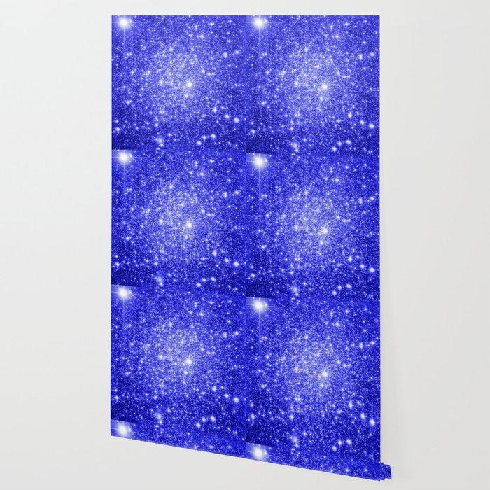 Royal Blue GAlAXY Stars Wallpaper