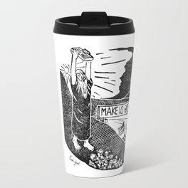 Fake God Travel Mug