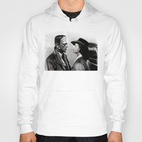 casablanca Hoodies featuring FRANKENSTEIN IN CASABLANCA by Luigi Tarini