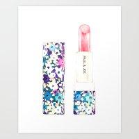 Paul & Joe Lipstick Art Print