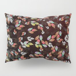 Teardrop Leaves (Abyss) Pillow Sham