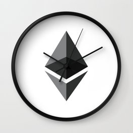 Ethereum Solid Wall Clock