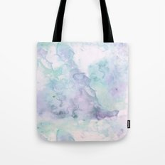 Pastel modern purple lavender hand painted watercolor wash Tote Bag