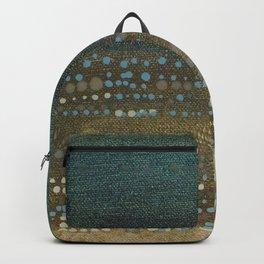 Landscape Dots - Night Backpack