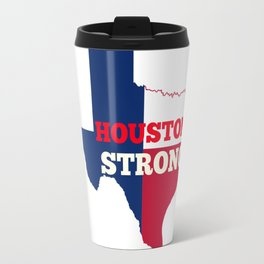 Red, White & Blue Houston Strong Travel Mug