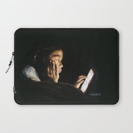 Portrait of Tara Laptop Sleeve