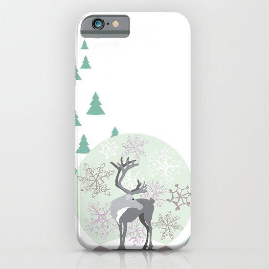 Reindeer Snowglobe iPhone & iPod Case