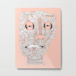 Another Face Metal Print