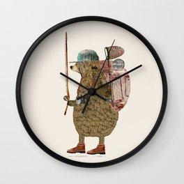nature bear Wall Clock