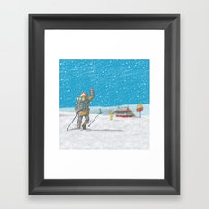 Freeze Framed Art Print