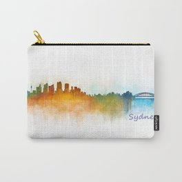 Sydney City Skyline Hq v3 Carry-All Pouch