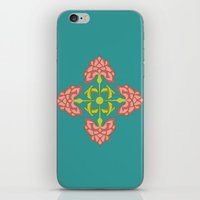 flora iPhone & iPod Skins featuring Flora by nandita singh
