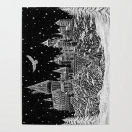 Holiday at Hogwart Poster