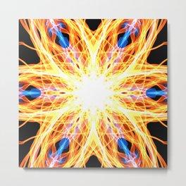 GFTNeon005 , Neon Abstract Metal Print