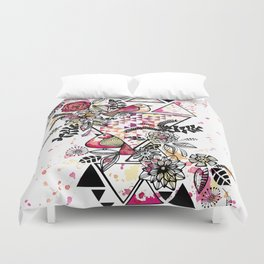 Triangle Nature Duvet Cover