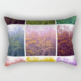 Goldenrod Collage Rectangular Pillow