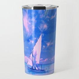 Tropical yachting Travel Mug
