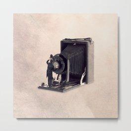The lens cleaner Metal Print