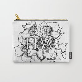 """""""HW"""" Drawing Carry-All Pouch"""