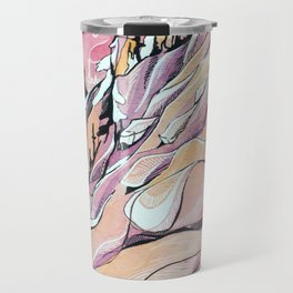 Pink Hour Pillows Travel Mug