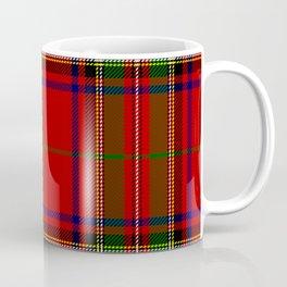 Red Tartan Plaid Kaffeebecher