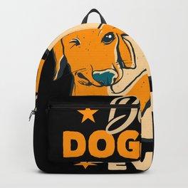 Best Dog Father Gift Dad Dog Owner Backpack