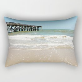 Turquoise Pier Rectangular Pillow