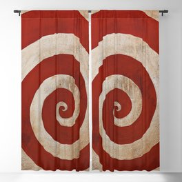 Sideshow Carnival Spiral Blackout Curtain