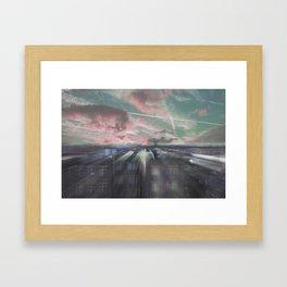 THE ELEVATION MEDITATION Framed Art Print