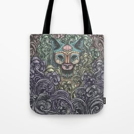 Bastet on the field Tote Bag