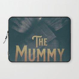 The Mummy, Boris Karloff, 1932 cult horror movie poster, vintage affiche Laptop Sleeve