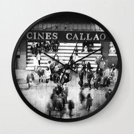 Cines Callao Wall Clock