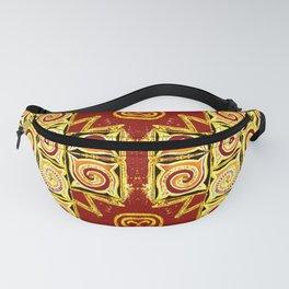 Aztec Swirl Fanny Pack