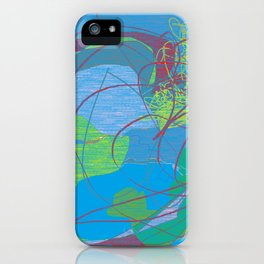 Global Warming vs. Gerrymandering iPhone Case